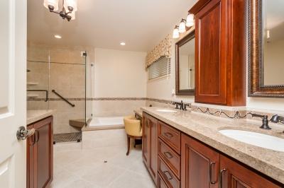 Castro Valley Traditional Master Bedroom Bath and Bath