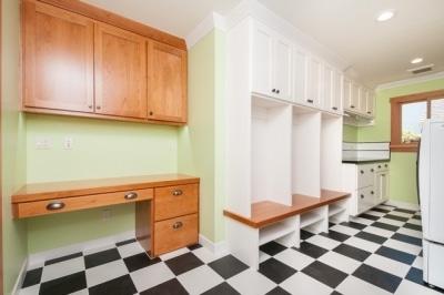 Richmond Custom Mud Room/Laundry/Craft Room
