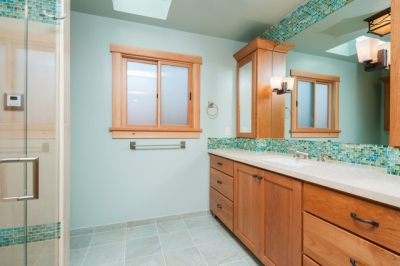 Fremont Craftsman-Inspired Master Bath