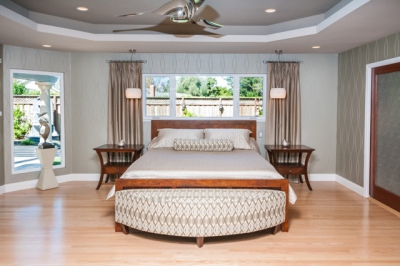 Fremont Contemporary Master Bedroom