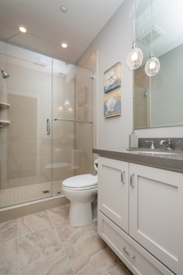 Union City Gray and Tan Guest Bath